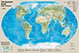 National Geographic Maps The Dynamic Earth, Plate Tectonics, tubed Wall Maps World (National Geographic Reference Map)