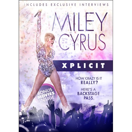 Miley Cyrus: Xplicit [DVD] [Import]