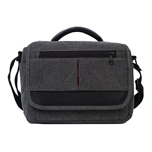 Camera-Bag-Canvas-Camera-Case-SLR-DSLR-Camera-Bag-Photography-for-Sony-Canon-Nikon-Olympus-Deep-Grey
