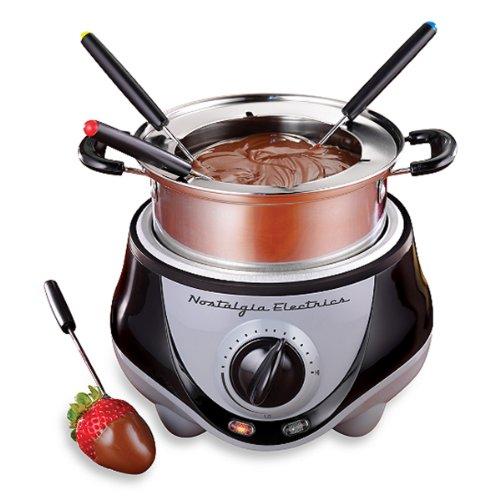 Aytra Electrics Mini Stainless Steel Fondue Pot