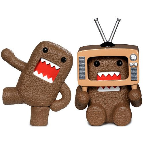 Buy Low Price Jakks Pacific Dancin' and TV Head Domo Plastic Figure Set (B001Z6FEOA)