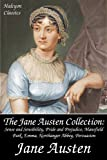The Jane Austen Collection: Sense and Sensibility, Pride and Prejudice, Mansfield Park, Emma, Northanger Abbey, Persuasion, Lady Susan (Halcyon Classics)