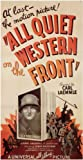 All Quiet on the Western Front Poster Movie 11 x 17 In - 28cm x 44cm Lew Ayres Louis Wolheim John Wray Slim Summerville Russell Gleason Raymond Griffith