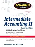 img - for Schaum's Outline of Intermediate Accounting II, 2ed [Schaum's Outline Series] by Englard, Baruch [McGraw-Hill,2009] [Paperback] 2ND EDITION book / textbook / text book