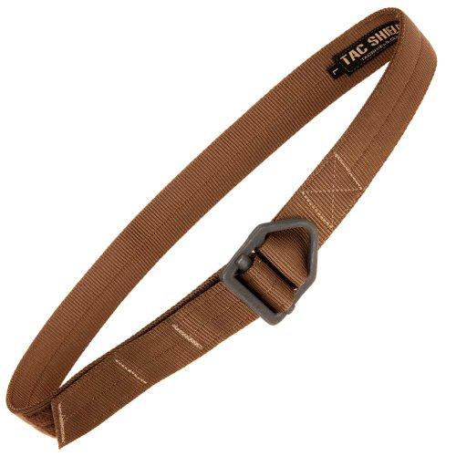 tac shield tactical rigger belt large brown sporting