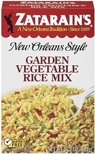 ZATARAIN'S Rice Mix, Garden Vegetable, 6.5-Ounce (Pack of 12)
