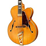 D'Angelico EXL101 EXL-1 Natural Hollow-Body Electric Guitar