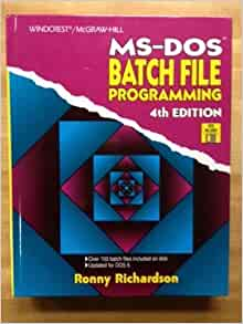 how to make batch file in dos
