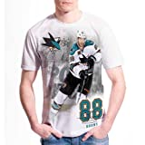 San Jose Sharks Brent Burns FX Highlight Reel Kewl-Dry T-Shirt Size L at Amazon.com