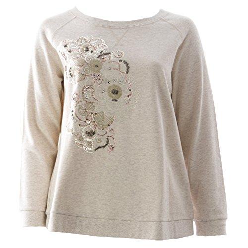 marina-rinaldi-womens-occipite-embellished-sweater-x-large-beige