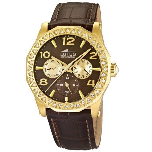 33160beae23d Lotus 15761 3 - Reloj analógico de cuarzo para mujer con correa de piel