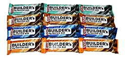 Clif Builder\'s 20g Protein Bar Variety Pack of 12