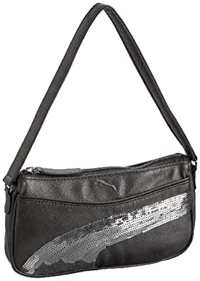 Puma Espera Sequins Small Shoulder Bag, Platinum/Puma