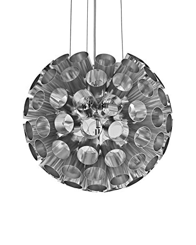 Modway Pierce Aluminum 4-Light Pendant, Silver