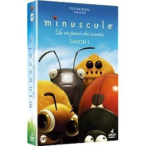 Minuscule : la vie privée des insectes - Saison 1, Coffret 4 DVD