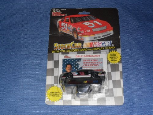 1992 NASCAR Racing Champions . . . Dale Earnhardt #3 GM Goodwrench Chevy Lumina 1/64 Diecast . . . Includes Collector's Card & Display Stand