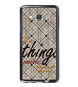 Fuson Premium 2D Back Case Cover Faith make things possible With Multi Background Degined For Samsung Galaxy A3::Samsung Galaxy A3 A300F