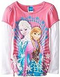 Disney Little Girls'Frozen Sisters Long-Sleeve Twofer Shirt