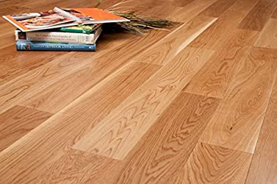 """White Oak w/4mm Wear Layer Prefinished Engineered Wood Flooring 5"""" x 5/8"""" Samples at Discount Prices by Hurst Hardwoods"""