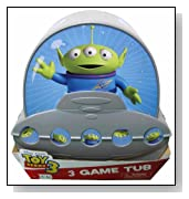 Toy Story 3 Alien Shaped 3 Game Tub