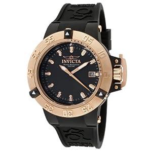 Invicta Women's 10132 Subaqua Noma III Black Dial Black Silicone Watch
