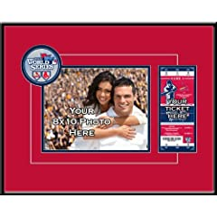 MLB St. Louis Cardinals 2013 World Series Your 8x10 Photo Ticket Frame by That