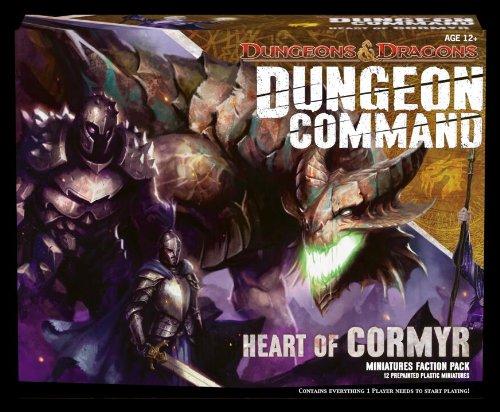 Imagen de Dungeon Comando: Corazón de Cormyr: Una expansión de Dungeons & Dragons Pack (D & D Miniaturas del producto)