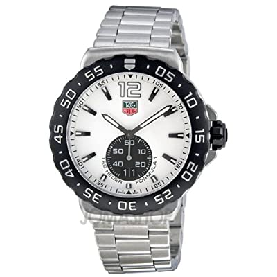 TAG Heuer Men's WAU1111.BA0858 Formula 1 White Dial Stainless Steel Watch