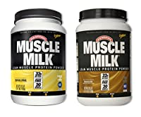 MuscleMilk Banana Crème 2.47 Pound/Chocolate 2.47 Pound (1 of each) by CytoSport Muscle Milk