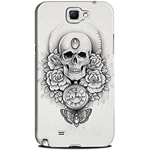 CASE U Time is Precious, Waste it Wisely Designer Case for Samsung Galaxy Note 2