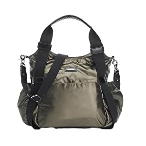 Amazon.com : Storksak Tania Bee Bag, Graphite : Diaper Tote Bags