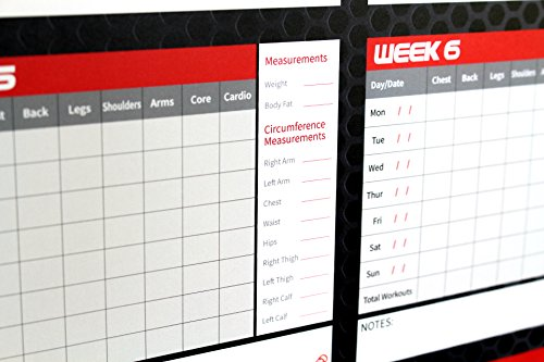 gympad 12 week fitness workout planner