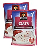 #3: Big Bazaar Combo - Quaker Oats Strawberry and Apple, 40g (Pack of 2) Promo Pack