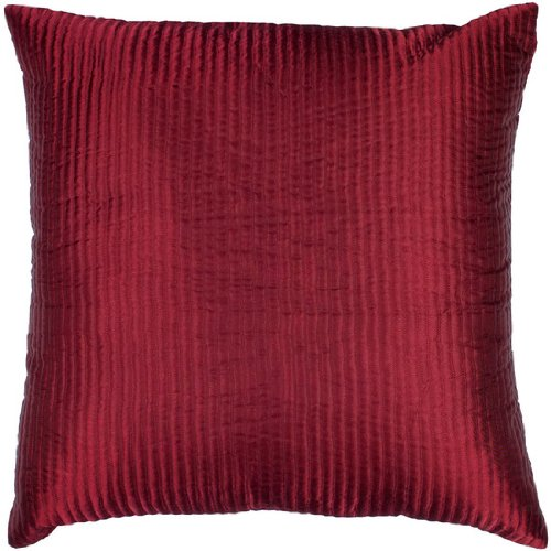 Black Friday Throw Pillows : Cheapest Black Friday 22 Ruby Red Shiny Ribbed Decorative Down Throw Pillow 001 Black Friday ...