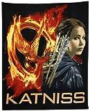 The Hunger Games Movie Polar Fleece Blanket Throw Katniss