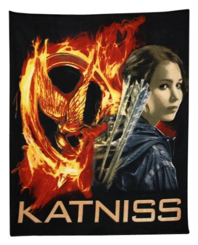 The Hunger Games Movie polar Fleece Katniss