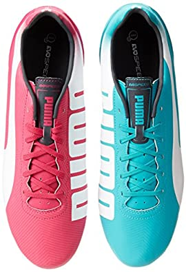 PUMA Men's Evospeed 4.2 Tricks Fg Soccer Shoe,Purple/Bluebird-white,11.5 M US