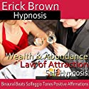 Wealth and Abundance Law of Attraction: Manifest Success, Guided Meditation, Self-Hypnosis, Binaural Beats  by Erick Brown Hypnosis Narrated by Erick Brown Hypnosis