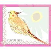 HappyHappyコンパニオンバードシール30 セキセイインコ・オカメインコ・コザクラインコ・文鳥・ヨウム