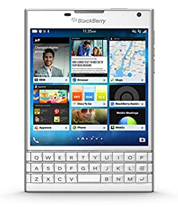 BlackBerry Passport - Factory Unlocked Smartphone - White