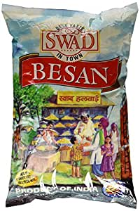 Amazon.com : Swad Besan (Gram or Chick Pea Flour) - 4lb