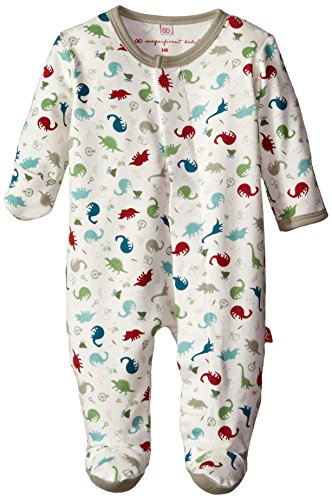 Magnificent Baby Baby-Boys Dino Expedition Footie