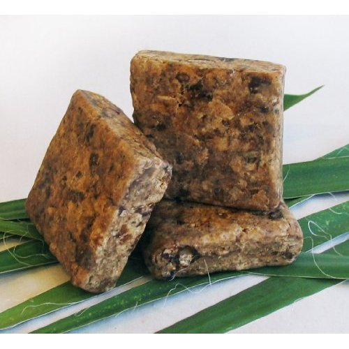 Raw African Black Soap - 4 oz.
