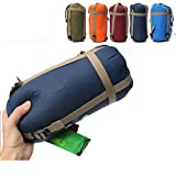 CAMTOA Outdoor Sleeping Bag Camping Sleeping Bag Envelope Sleeping Bag for Travel Hiking Multifuntion Ultra-light