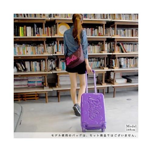 (バービー) Barbie スーツケース キャリー ハード 旅行かばん 30L [ジェーンTR] 05926