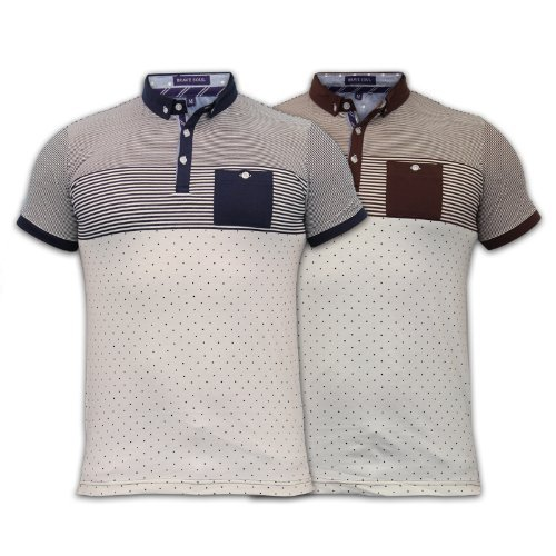 Men'S Brave Soul T Shirt 69Museb Navy Large