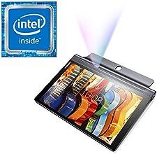 """Tablette projecteur Lenovo Yoga Tab 3 PRO  QHD 10"""" Noir (SSD 32 Go, Android Lolippop 5.1, Wifi) + projecteur intégré 50 Lumens (+100 euros remboursés par Lenovo*)"""
