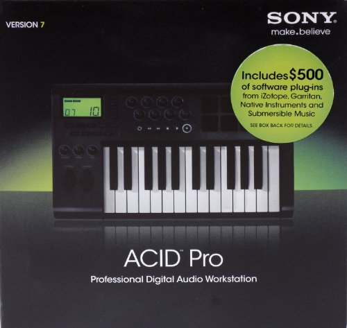 Sony ACID Pro 7 (Student / Teacher) (PC CD)