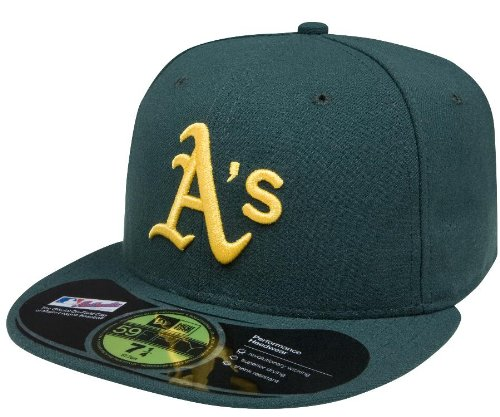 MLB Oakland Athletics Authentic On Field Road 59FIFTY Cap (7 3/8)
