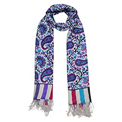 Shawls of India Dashing Multicolor Printed Stole